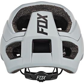 Fox Metah Solids Fietshelm Heren grijs